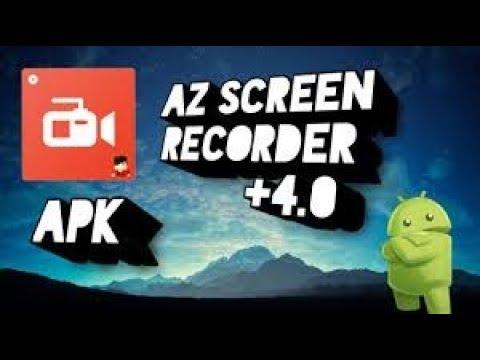 az screen recorder no root apk android 4.4.4