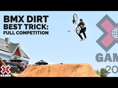 BMX Dirt Best Trick: FULL COMPETITION | X Games 2021