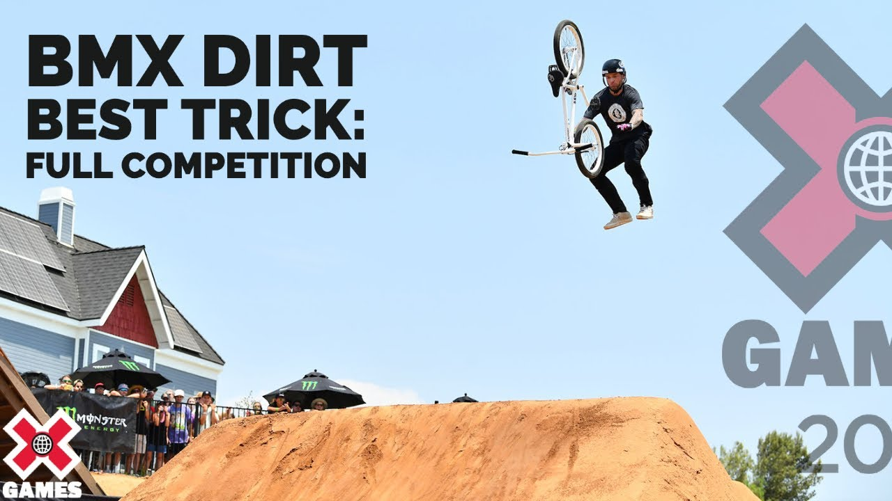 Download BMX Dirt Best Trick: FULL COMPETITION   X Games 2021