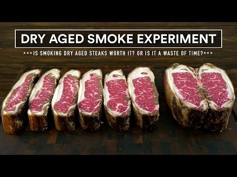 Dry Aged SMOKE EXPERIMENT Sous Vide - Steak Fight!