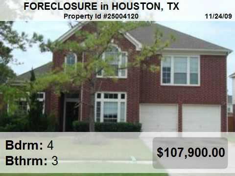 Foreclosures In Houston, TX