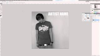Photoshop CS5 Tutorial: How to Design a Professional Album Cover