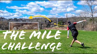 THE MILE CHALLENGE!! (how many throws does it take to throw a 1 mile??)