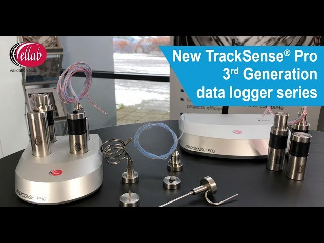 Wireless Data Loggers - TrackSense Pro 3rd Generation - Ellab