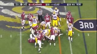 #5 Alabama vs. #16 LSU 2014 (Highlights)