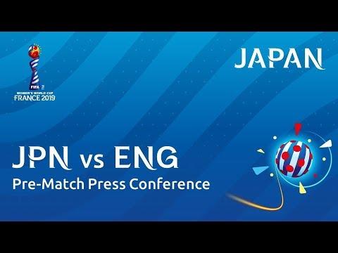 JPN v. ENG - Japan - Pre-Match Press Conference