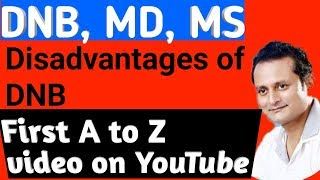 DNB, MD , MS Advantages, Disadvantages. Which is better and why? Post MBBS career Counseling .