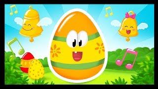 Comptines de Pâques pour les maternelles - Les oeufs au chocolat - TITOUNIS