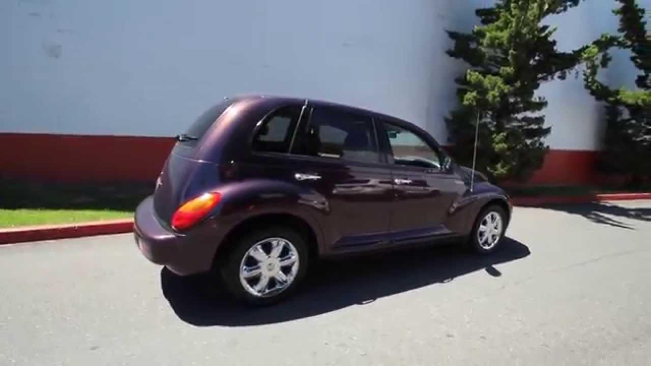2004 Chrysler Pt Cruiser Limited Dark Plum 4t220053