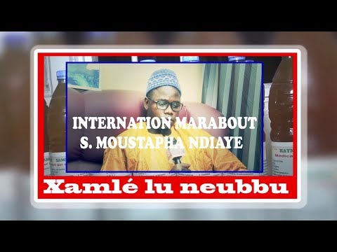 xamlé Lu Nebbu avec Serigne Moustapha Ndiaye Al Karim