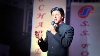 Shahrukh Khan talks about Success and his mentor Yash Chopra