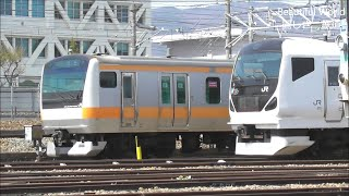 E233系T41編成 長野総合車両センターに入場! 2019.4.23 JR長野総合車両センター  光panasd 1206
