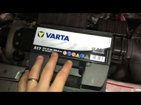 How to change the battery of a car start battery replacement Suzuki Swift DIY