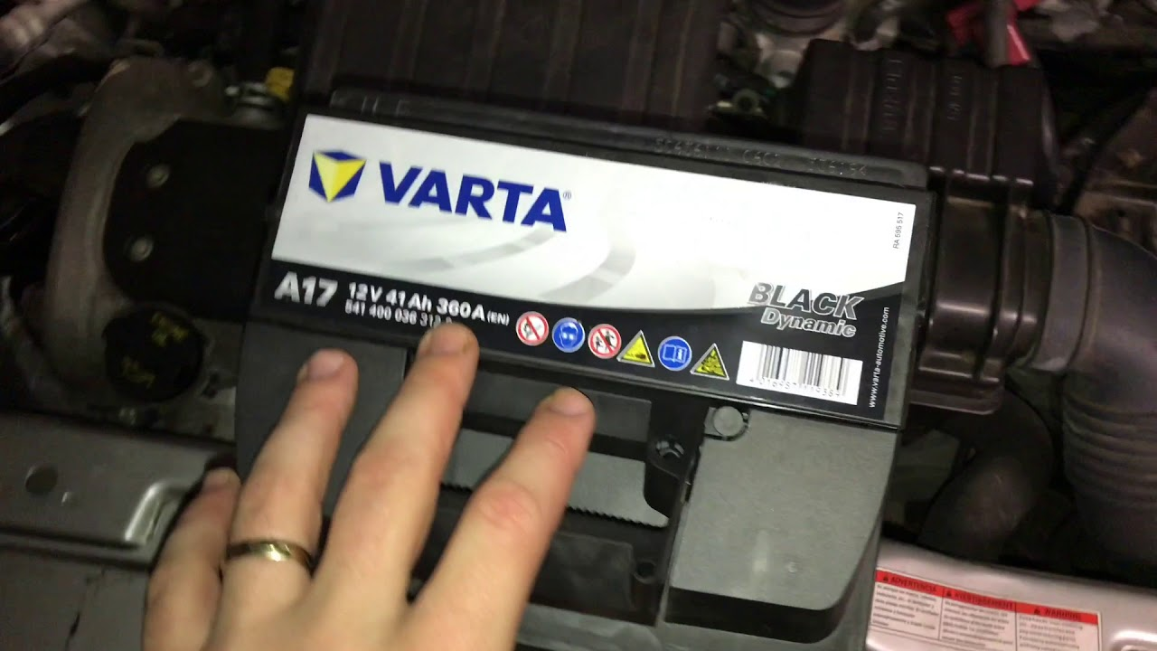 How to change the battery of a car start battery replacement