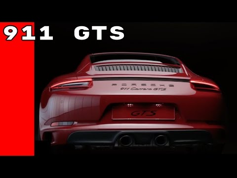 2017 Porsche 911 GTS Commercial Trailer