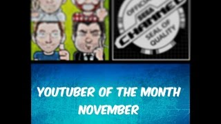 Youtuber of The Month - November