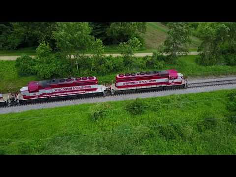Wisconsin & Southern rail 4192
