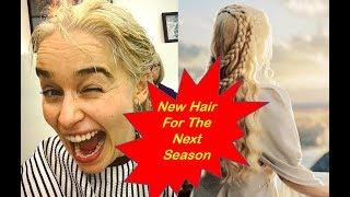 Emilia Clarke's Hair Is Now Targaryen Blond — Permanently!