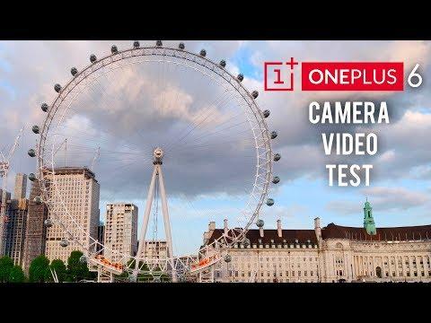 OnePlus 6 Camera 4K + Slow Motion Video Test