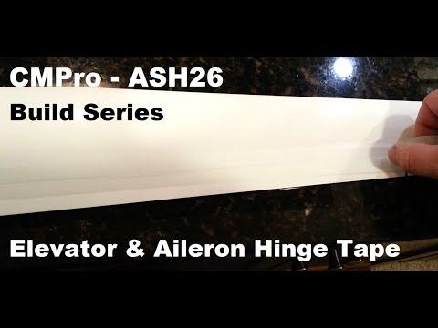 CMPro - ASH26 - 2.6m Composite Sail Plane - Build Series - Ailerons and Winglets