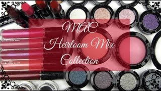 MAC Heirloom Mix Collection: Live Swatches & Review Thumbnail