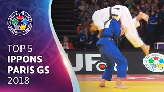 TOP 5 IPPONS PARIS GS 2018