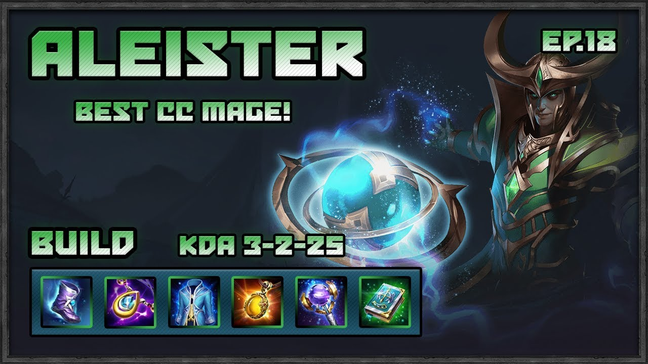 Arena Of Valor Aleister Best Cc Mage Assist Machine