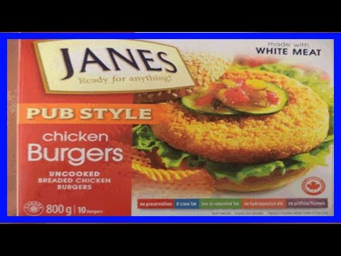 [Chanel News] Food recall warning - janes brand frozen uncooked breaded chicken products recalled d