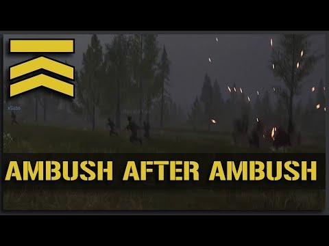 AMBUSH after AMBUSH!! Operation: Sawtooth (Squad Ops Hardcore 1-Life Full Game) - v10 Squad Gameplay