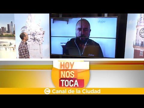 Comunicación vía Skype con Miguel Ángel Díaz González en Hoy nos toca