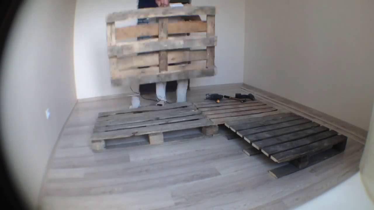 Кровать из поддонов своими руками фото 821