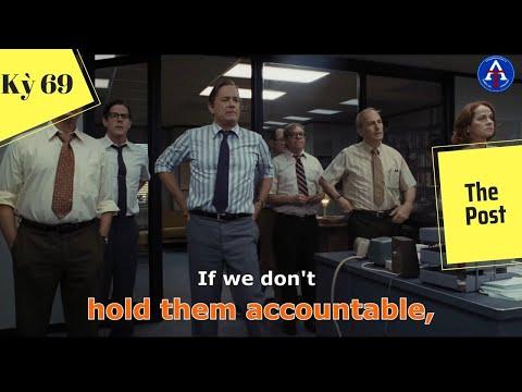 [HỌC IDIOM QUA PHIM] - Hold Them Accountable (Phim The Post)