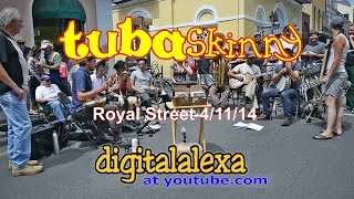 "Tuba Skinny -""Oriental Strut"" - Royal St 4/11/14 - MORE at DIGITALALEXA channel"