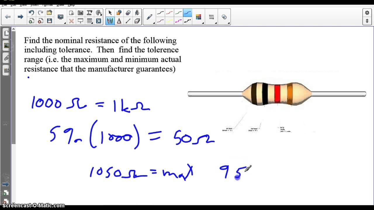 electronic resistance colour code pdf