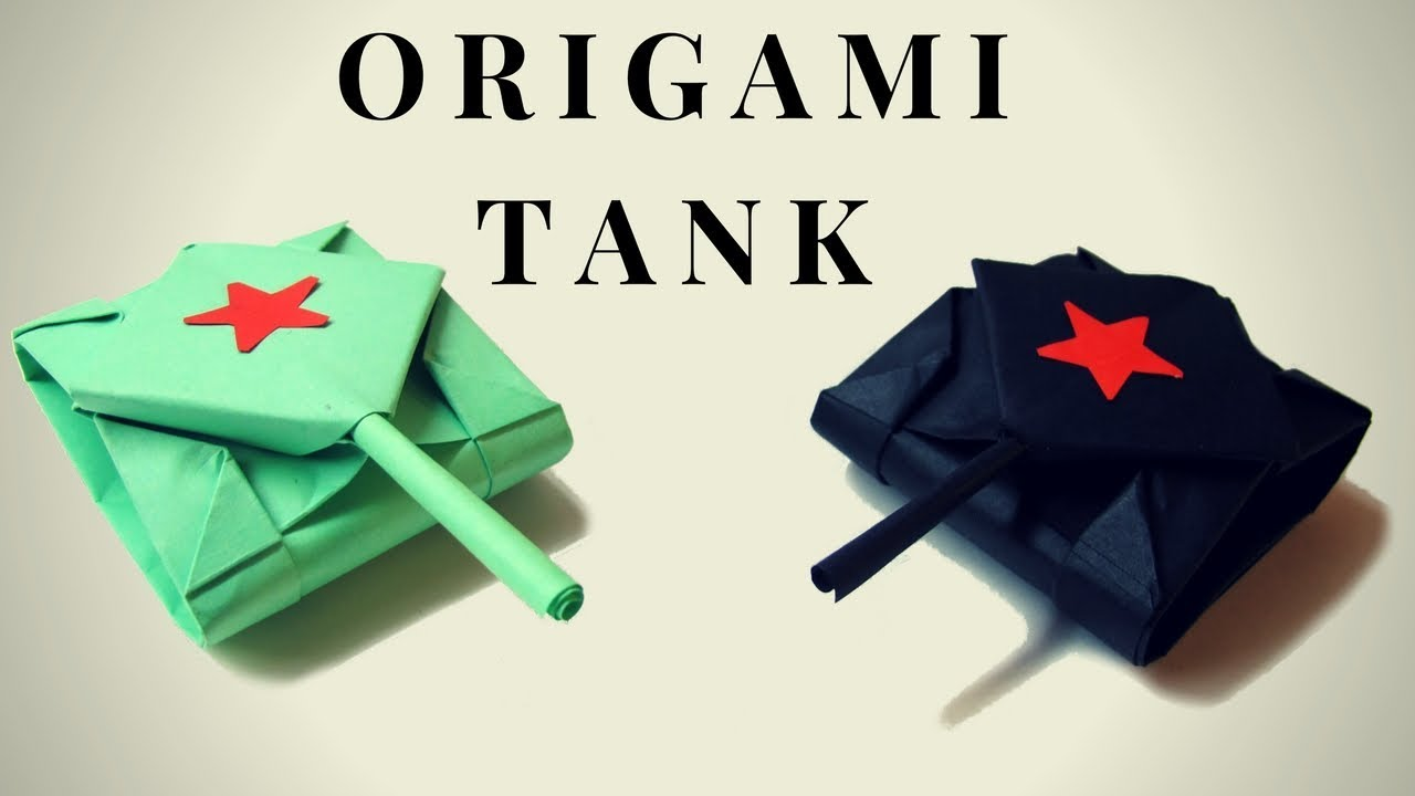 origami tank – do origami   720x1280