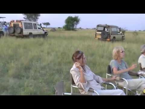 Uganda - Queen Elizabeth National Park Safari #14 - Sun Downer - 28 August 2016