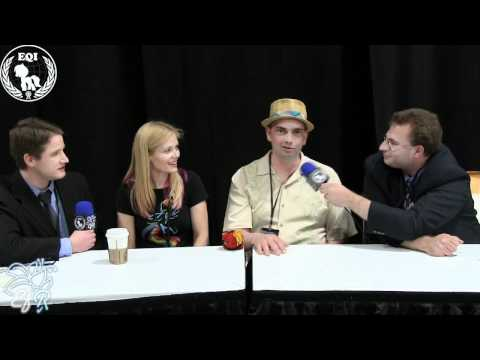 BronyCon Summer 2012 - Meghan McCarthy & Peter New Interview by EQI