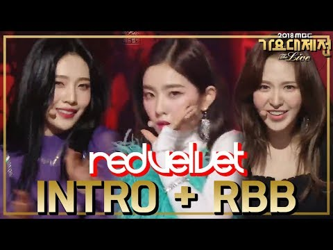 [HOT] Red Velvet - Intro + RBB, 레드벨벳 - Intro + RBB