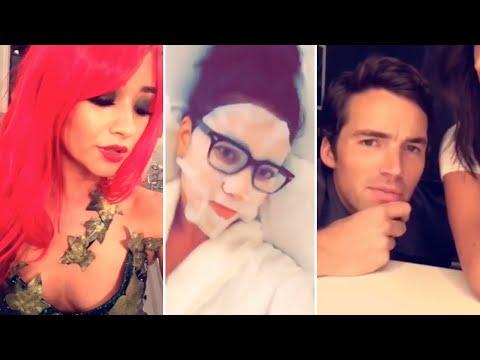 Shay Mitchell | Snapchat Videos Compilation (October 2015) (ft Ashley Benson & Ian Harding)