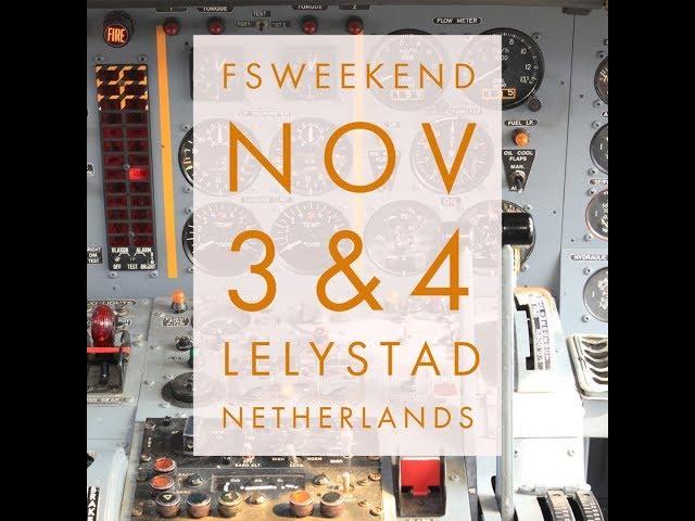 FSWeekend 2018 in Lelystad