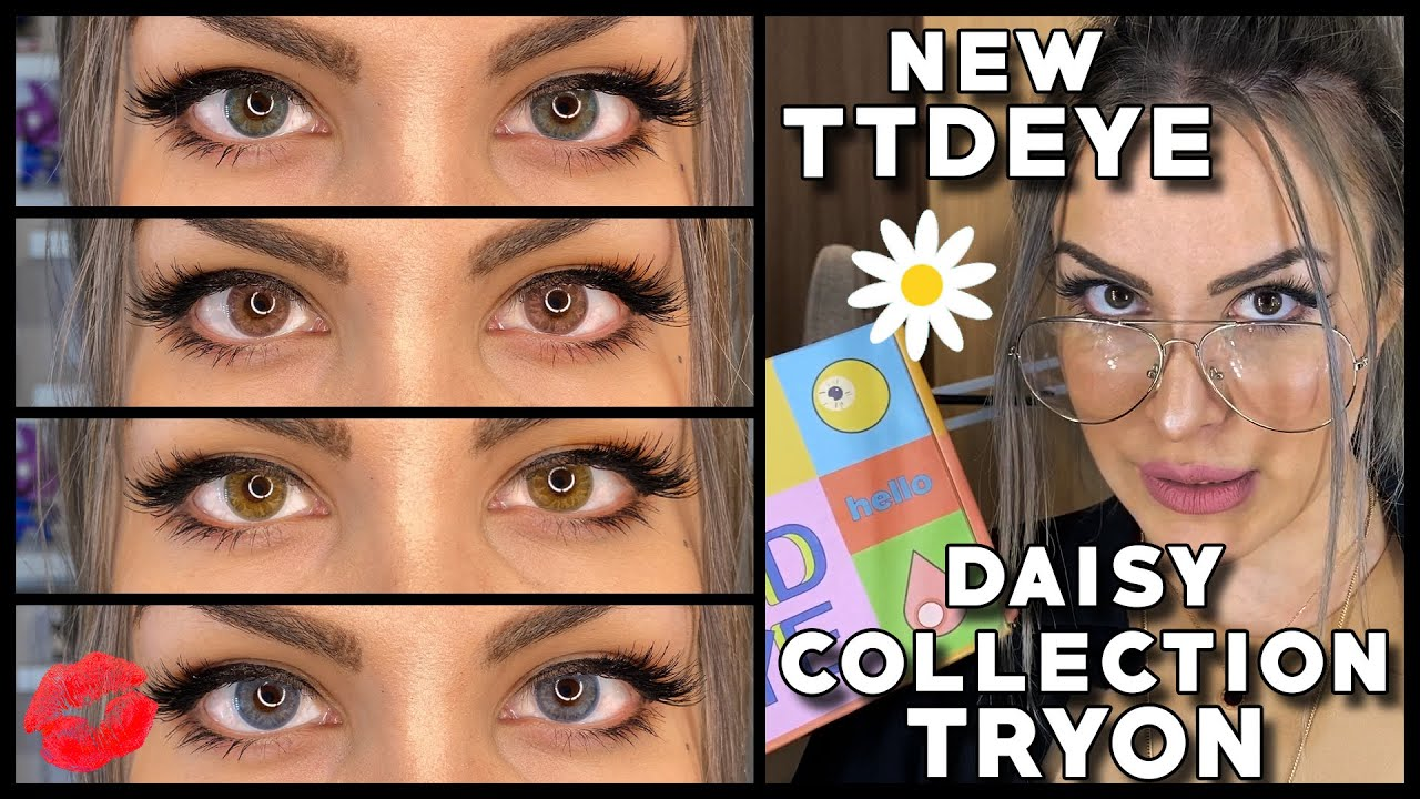 New Ttdeye Daisy Collection Unboxing Tryon On Brown Eyes Stella Ku Youtube You can reel off it will eventually pay off to follow/support/ allow a bleary eye to occasionally rest upon. new ttdeye daisy collection unboxing tryon on brown eyes stella ku