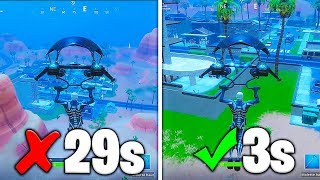 "HOW TO LAND ""100 FOIS"" MORE ON FORTNITE: Battle Royale!! (GLITCH)"