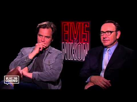 Exclusive Interview: Michael Shannon And Kevin Spacey Talk Elvis & Nixon [HD]