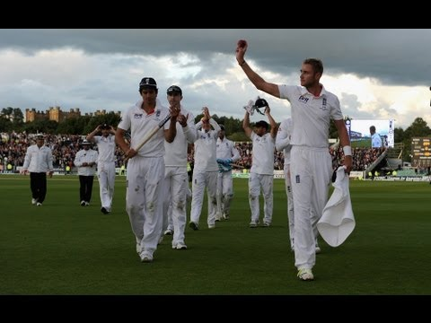 England win Investec Ashes Series, England v Australia highlights, 4th Test, day 4 evening, Durham