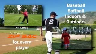 ZIP SAC Throw Sack for Baseball and Softball Training