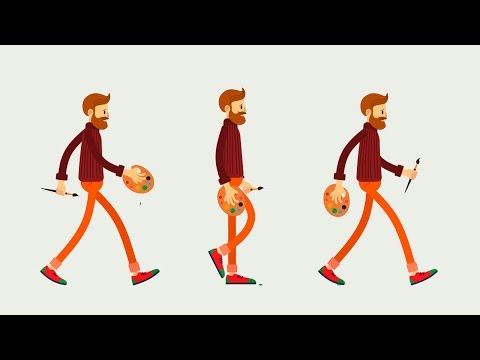 6. Обзор главы Персонажная анимация курса Супер Моушн