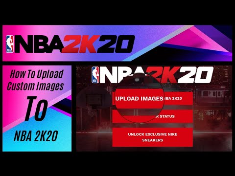 HOW TO UPLOAD CUSTOM IMAGES TO YOUR MYTEAM IN NBA 2K20