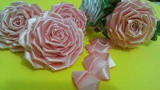Flor de tecido – TUTORIAL da ROSA LINDA – montagem completa