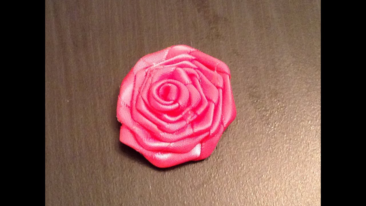 Ribbon Rose Craft Diy