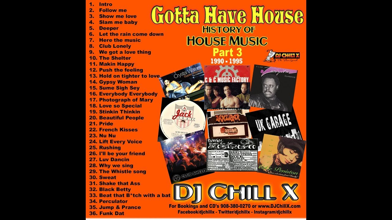 best classic house music 1990 1995 history of house